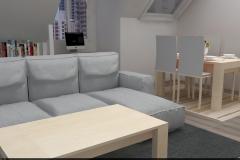 2-Cocina-salón-comedor-Interiorismo-M2-Al-Detalle_007