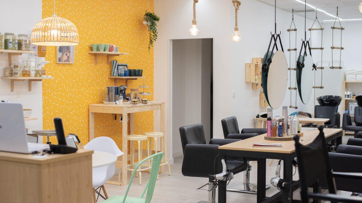 Interiorismo comercial, salón de belleza Isabel Muñoz