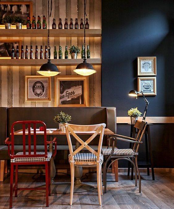 Tips de decoración – locales: Cafetería/Cervecería