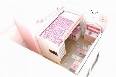 2-Habitacion-niña-Interiorismo-M2-Al-Detalle_001