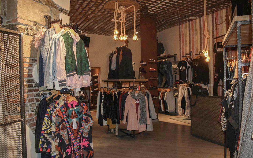 Interiorismo comercial, antes-después tienda Dolce Vita