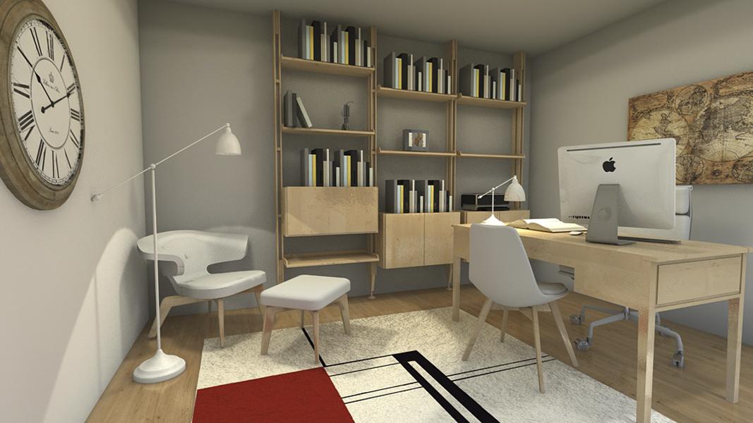 Home Staging, piso completo. Ante-Después